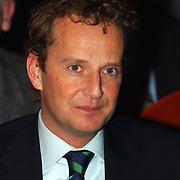 CDA verkiezingsbijeenkomst Hilversum, staatssecretaris Joop Wijn