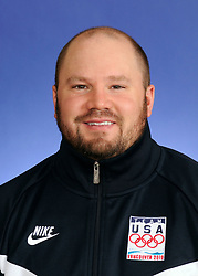 Feb 08, 2010 - Vancouver, British Columbia, Canada - Bobsled coach STEVEN HOLCOMB of the United States Olympic Team poses for their USOC team portrait (Credit Image: ZUMA Press/ZUMAPRESS.com)