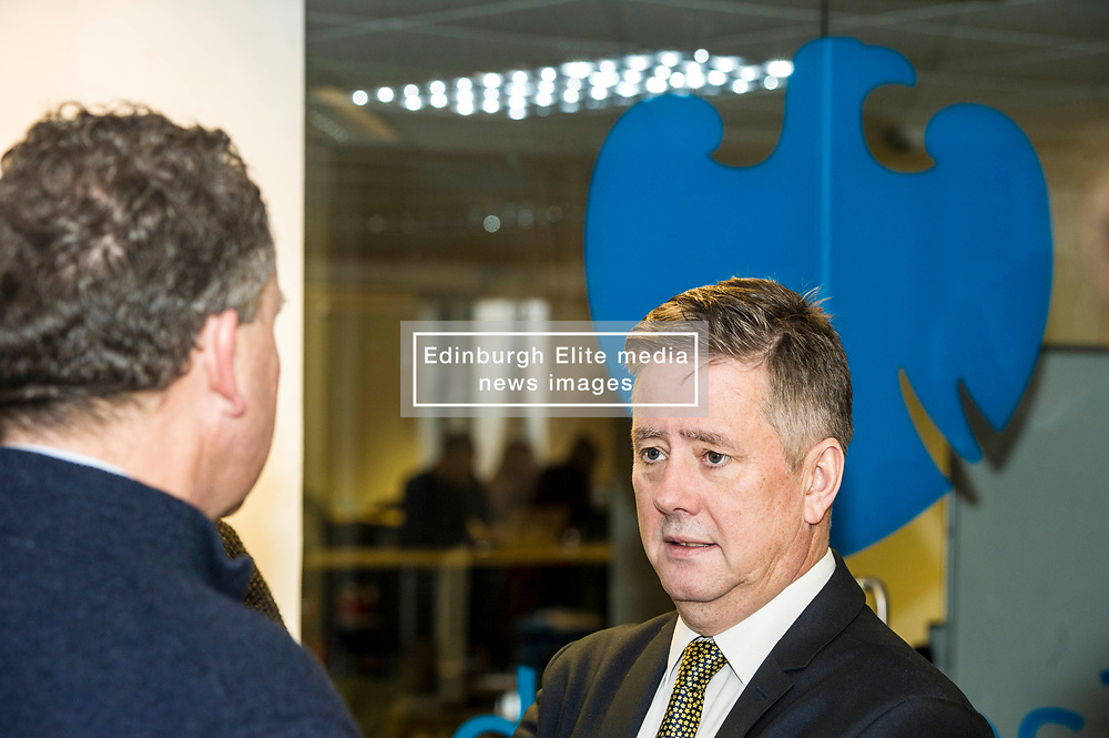 Pictured: Keith Brown<br /> Today Keith Brown MSP opened Scotland's first Barclays Eagle lab in partnership with CodeBase. The resource allows businesses and communities to access new technologies and boost digital skills while supporting job creation in the local economy. <br /> <br /> Ger Harley | EEm 16 January 2018