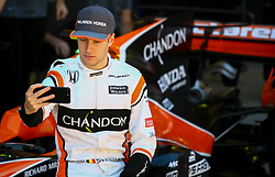 November 12, 2017 - Brazil - SAO PAULO, SP - 12.11.2017: GRANDE PR MIO DO BRASIL DE FORMULA 1 2017 - In the photo the pilot Stoffel Vandoorne of MCLAREN RACING. Grand Prix of Brazil of Formula 1 2017, this Sunday (12) in the autodrome Jose Carlos Pace in Interlagos. (Credit Image: © Fotoarena via ZUMA Press)