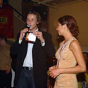 CD presentatie Georgina Verbaan, door Daan Schuurmans