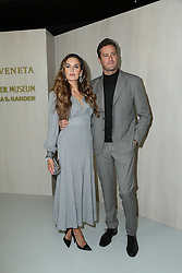 LOS ANGELES, CA - OCTOBER 14: Celebrity arrival at the Hammer Museum 15th Annual Gala in the Garden with Generous Support from Bottega Veneta on October 14, 2017 in Los Angeles, California. 14 Oct 2017 Pictured: Elizabeth Chambers, Armie Hammer. Photo credit: @parisamichelle / MEGA TheMegaAgency.com +1 888 505 6342