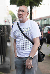 The Who guitarist Pete Townsend arrives at the SARM Studios to play on the Grenfell Tower charity single. 19 Jun 2017 Pictured: Pete Townsend. Photo credit: MEGA TheMegaAgency.com +1 888 505 6342