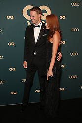 Celebrities and VIPs arrive on the black carpet for the 2018 GQ Men of the Year Awards presented by AUDI at The Star, Sydney. 14 Nov 2018 Pictured: Curtis McGrath, Rachel Martin. Photo credit: Richard Milnes / MEGA TheMegaAgency.com +1 888 505 6342