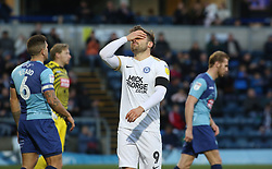 Matt Godden of Peterborough United rues a missed chance to score - Mandatory by-line: Joe Dent/JMP - 03/11/2018 - FOOTBALL - Adam's Park - High Wycombe, England - Wycombe Wanderers v Peterborough United - Sky Bet League One