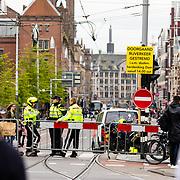 NLD/Amsterdam/20170504 - Beveiliging Nationale Herdenking 2017,