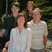 SOUTHPORT, Maine,  -- 8/9/14 -- <br /> Rhines Family Portraiture<br /> <br /> Photo © Roger S. Duncan 2014. <br /> <br /> Permission for all personal uses granted to the Rhines Family. <br /> <br /> Resale not permitted with out express written consent by Roger S. Duncan.