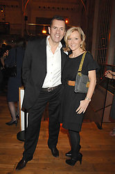 DUNCAN BANNATYNE and his wife JOANNE at the Orion Authors Party held at the Royal Opera House, Covent Garden, London on 11th February 2008.<br /><br />NON EXCLUSIVE - WORLD RIGHTS