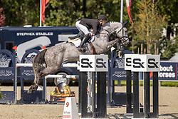 Layec Nicolas, FRA, Manolo Z<br /> Belgian Championship 7 years old horses<br /> SenTower Park - Opglabbeek 2020<br /> © Hippo Foto - Dirk Caremans<br />  13/09/2020