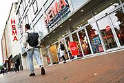 Nederland, Nijmegen, 17-7-2020 Vestiging, filiaal, van warenhuis Hema in het centrum van Nijmegen op een beeldbepalende locatie. De retailer kampt met problemen vanwege de teruglopende omzet, verkoop en het veranderende consumentengedrag naar online winkelen via internet. Foto: ANP/ Hollandse Hoogte/ Flip Franssen