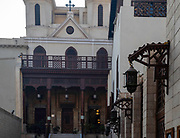 Saint Virgin Mary's Coptic Orthodox Church, also known as the Hanging Church,  Kom Ghorab, Old Cairo, Egypt.