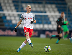GRÖDIG, AUSTRIA - Tuesday, December 10, 2019: FC Salzburg's Peter Pokorny during the final UEFA Youth League Group E match between FC Salzburg and Liverpool FC at the Untersberg-Arena. (Pic by David Rawcliffe/Propaganda)