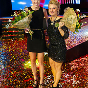 NLD/Amsterdam/20121218 - NOC/NSF Sportgala 2012, Naomi van As en Spohie Polkamp