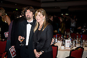 Trevor Nunn; Imogen Stubbs, The Costa Book of the Year Award at the Costa Book Awards. The Intercontinental Hotel, Hamilton Place. London. 27 January 2009 *** Local Caption *** -DO NOT ARCHIVE -Copyright Photograph by Dafydd Jones. 248 Clapham Rd. London SW9 0PZ. Tel 0207 820 0771. www.dafjones.com<br /> Trevor Nunn; Imogen Stubbs, The Costa Book of the Year Award at the Costa Book Awards. The Intercontinental Hotel, Hamilton Place. London. 27 January 2009