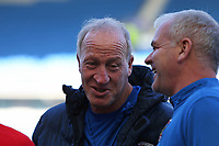 Football - 2017 / 2018 FA Cup - Fifth Round : Brighton and Hove Albion vs. Coventry City<br /> <br /> Coventry FA Cup winner, and now Coventry's goalkeeping coach Steve Ogrizovic before kick off at The Amex Stadium Brighton <br /> <br /> COLORSPORT/SHAUN BOGGUST