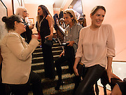 AMANDA SHARP;  PRINCESS ALIA AL-SENUSSI;; PHILOMENE MAGERS;, Opening of Morris Lewis: Cyprien Gaillard. From Wings to Fins, Sprüth Magers London Grafton St. London. Afterwards dinner at Simpson's-in-the-Strand hosted by Monika Spruth and Philomene Magers.
