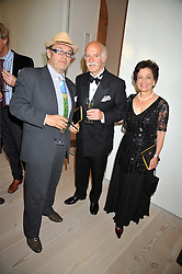 Left to right, OLIVER ROTHSCHILD and MR & MRS ANTON MOSIMANN at the presentation of the Veuve Clicquot Business Woman Award 2009 hosted by Graham Boyes MD Moet Hennessy UK and presented by Sir Trevor Macdonald at The Saatchi Gallery, Duke of York's Square, Kings Road, London SW1 on 28th April 2009.