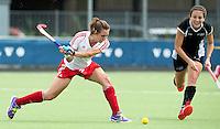 BREDA (Neth.)  Hayley Turner of England during the match  New Zealand vs England U21 women . Volvo Invitational Tournament U21. COPYRIGHT KOEN SUYK