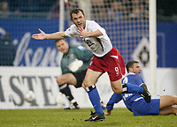Fotball 25. september 2003, Bundesliga,1-0  Jubel Bernardo ROMEO HSV- Bundesliga Hamburger SV - FC Schalke 04