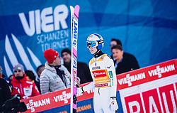 01.01.2020, Olympiaschanze, Garmisch Partenkirchen, GER, FIS Weltcup Skisprung, Vierschanzentournee, Garmisch Partenkirchen, Wertungssprung, im Bild Ryoyu Kobayashi (JPN) // Ryoyu Kobayashi of Japan reacts after his competition Jump for the Four Hills Tournament of FIS Ski Jumping World Cup at the Olympiaschanze in Garmisch Partenkirchen, Germany on 2020/01/01. EXPA Pictures © 2019, PhotoCredit: EXPA/ JFK