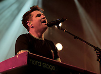 Scouting for Girls live on stage at Isle of Wight Festival, Newport, IOW photo by Dawn Fletcher -Park