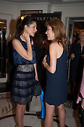 ANNALISA STEVENS; SILVIA BRUTTINI, The Foreign Sisters lunch sponsored by Avakian in aid of Cancer Research UK. The Dorchester. 15 May 2012