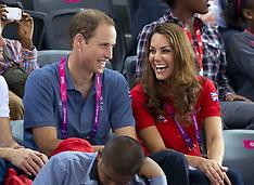 Duke and Duchess of Cambridge at London 2012 Paralympics 30--8-12