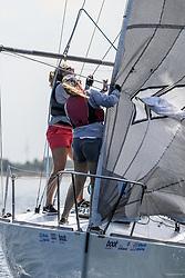 , Kiel - Kieler Woche 17. - 25.06.2017, J-24 - GER 4406 - Jux... und Dollerei - Thomas Cramer - Yacht-Club Wesel e. V