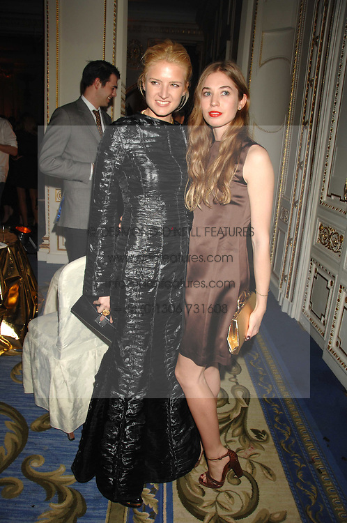 Left to right, FIONA SCARRY and ANOUSKA BECKWITH daughter of Tamara Beckwith at a party to celebrate the launch of The Essential Party Guide held at the Mandarin Oriental Hyde Park, 66 Knightsbridge, London on 27th March 2007.<br /><br />NON EXCLUSIVE - WORLD RIGHTS
