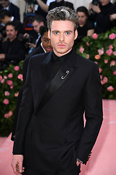 """Richard Madden at the 2019 Costume Institute Benefit Gala celebrating the opening of """"Camp: Notes on Fashion"""".<br />(The Metropolitan Museum of Art, NYC)"""