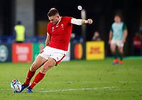 Rugby Union - 2019 Rugby World Cup - Semi-Final: Wales vs. South Africa<br /> <br /> Dan Biggar of Wales at International Stadium Yokohama, Kanagawa Prefecture, Yokohama City.<br /> <br /> COLORSPORT/LYNNE CAMERON