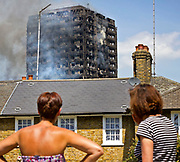 The Grenfell Tower fire occurred on 14 June 2017 at the 24-storey, 220-foot-high, block of public housing flats in North Kensington, West London. it caused 72 deaths, including those of two victims who later died in hospital. More than 70 others were injured and 223 people escaped.<br /> Emergency services received the first report of the fire at 00:54 local time. It burned for about 60 hours until finally extinguished. More than 200 firefighters and 45 fire engines from stations all over London were involved in efforts to control the fire. Residents of surrounding buildings were evacuated due to concerns that the tower could collapse, but the building was later determined to be structurally sound.<br /> <br /> The tower contained 129 flats. Police were unable to trace any survivors from 23 of these, and their occupants are believed to have died in the fire. Firefighters rescued 65 people. Seventy-four people were confirmed to be in six hospitals across London, and 17 of them were in a critical condition. The fire started in a fridge-freezer on the fourth floor. The growth of the fire is believed to have been accelerated by the building's exterior cladding.