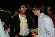 Olafur Eliasson AND Jeremy Deller, The Summer Party in association with Swarovski. Co-Chairs: Zaha Hadid and Dennis Hopper, Serpentine Gallery. London. 11 July 2007. <br />