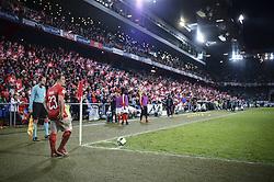 November 12, 2017 - Basel, Schweiz - Basel, 12.11.2017, Fussball WM Qualifikation Playoff - Schweiz - Nordirland, Xherdan Shaqiri (SUI) (Credit Image: © Melanie Duchene/EQ Images via ZUMA Press)