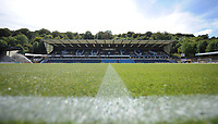 A general view of Adams Park, home of Wycombe Wanderers FC<br /> <br /> Photographer Kevin Barnes/CameraSport<br /> <br /> The EFL Sky Bet League One - Wycombe Wanderers v Blackpool - Saturday 4th August 2018 - Adams Park - Wycombe<br /> <br /> World Copyright © 2018 CameraSport. All rights reserved. 43 Linden Ave. Countesthorpe. Leicester. England. LE8 5PG - Tel: +44 (0) 116 277 4147 - admin@camerasport.com - www.camerasport.com