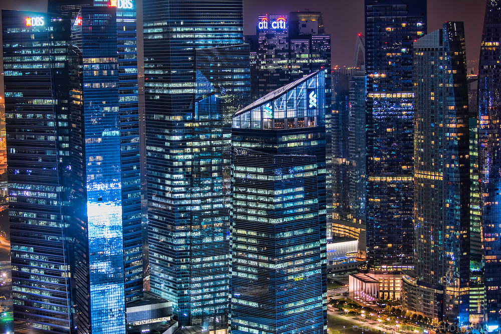 Marina Bay Financial Centre Towers