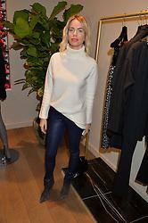 CAROLINE STANBURY at the Salt Store VIP Shopping event at 77 Eliabeth Street, London on 2nd December 2015.