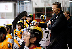 Head coach of Graz Bill Gilligan during ice hockey match between HK Acroni Jesenice and  Moser Medical Graz 99ers in 24th Round of EBEL league, on December 3, 2010 in Arena Podmezakla, Jesenice, Slovenia. Graz defeated Jesenice 3-0.  (Photo By Vid Ponikvar / Sportida.com)