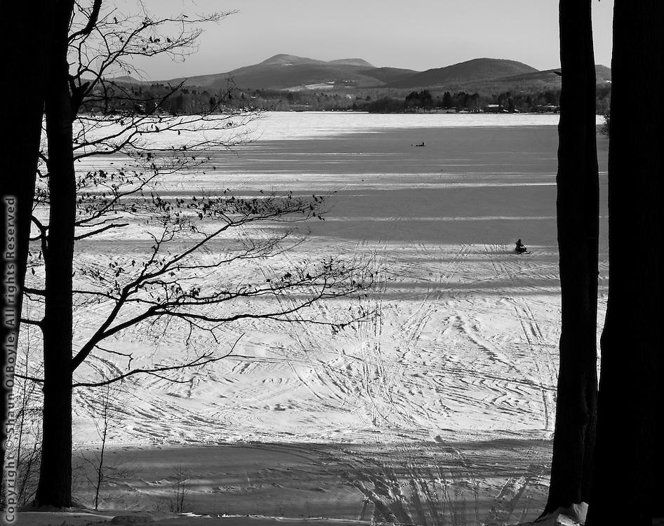 Pontoosuc Lake and Mt. Greylock, Pittsfield, MA