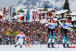 February 21, 2019 - Seefeld In Tirol, AUSTRIA - 190221 Calle Halfvarsson of Sweden competes in men's cross-country skiing sprint quarter final during the FIS Nordic World Ski Championships on February 21, 2019 in Seefeld in Tirol..Photo: Joel Marklund / BILDBYRN / kod JM / 87880 (Credit Image: © Joel Marklund/Bildbyran via ZUMA Press)
