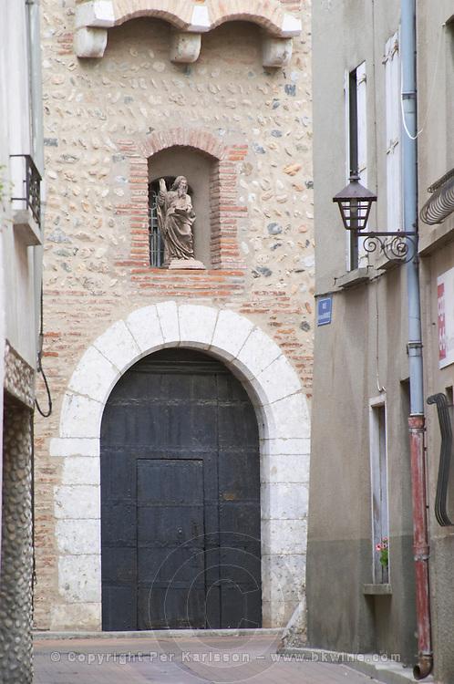 Saint Andre church. Rivesaltes town, Roussillon, France