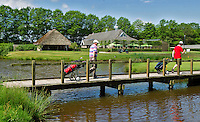 ESBEEK - Clubhuis bij 18. Midden-Brabant Golfbaan. COPYRIGHT KOEN SUYK