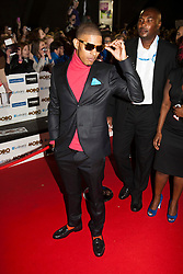 azer..Arrivals on the red carpet at the MOBO Awards 2011 at the SECC on October 5, 2011 in Glasgow, Scotland..Pic © Michael Schofield.