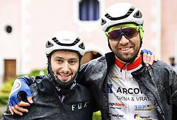 Riders during 4th Stage from Prevalje to Dobrovnik, 190 km at Day 4 of DOS 2021 Charity event - Dobrodelno okrog Slovenije, on April 30, 2021, in Slovenia. Photo by Vid Ponikvar / Sportida