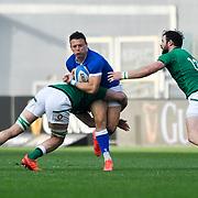 Roma 27/02/2021, Stadio Olimpico<br /> Guinness Six Nations 2021<br /> Italia vs Irlanda <br /> <br /> Paolo Garbisi