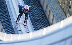 31.12.2017, Olympiaschanze, Garmisch Partenkirchen, GER, FIS Weltcup Ski Sprung, Vierschanzentournee, Garmisch Partenkirchen, Training, im Bild DanielAndre Tande (NOR) // Stefan Kraft of Austria during his Practice Jump for the Four Hills Tournament of FIS Ski Jumping World Cup at the Olympiaschanze in Garmisch Partenkirchen, Germany on 2017/12/31. EXPA Pictures © 2017, PhotoCredit: EXPA/ Jakob Gruber