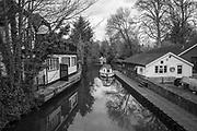 Maidenhead, Berkshire, Friday, 03/04/2020, Boulters Lock, Boathouse Bar Restaurant, Maidenhead, Berks, Taplow Riverside Gardens, Mandatory Credit: Peter SPURRIER],