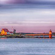 Ram Island, Linekin Bay. Ocean Point, Maine.