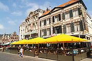 Grand Cafe Atlanta hotel, city centre of Nijmegen, Gelderland, Netherlands
