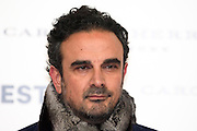 Lorenzo Castillo at Vogue December Issue Mario Testino Party